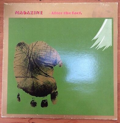 MAGAZINE After The Fact Vinyl LP (VM1) 1982
