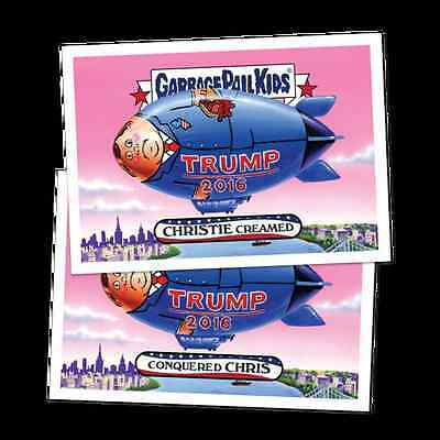 2016 Topps GPK Garbage Pail Kids Presidential Losers 20 Card Complete Set