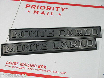 Monte Carlo EMBLEM Set 7 x 1 from Browning Boat 1973