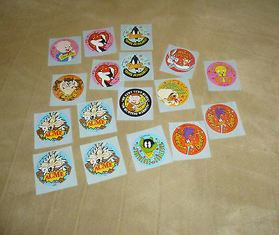 17x Warner Bros character stickers (11 unique designs)