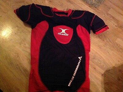 Gilbert padded rugby top