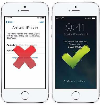 iCloud Removal Service iPhone iPad all models (1-5 days) , Read the Description