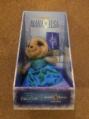 Brand New AYANA AS ELSA genuine limited edition Compare the Meerkat toy