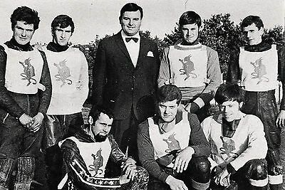 Plymouth Devils 1969 Speedway Team Photograph