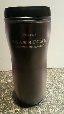 Starbucks Coffee Co. Barista Black 16 oz. Tumbler Mug 2001 Rare Black Abbey