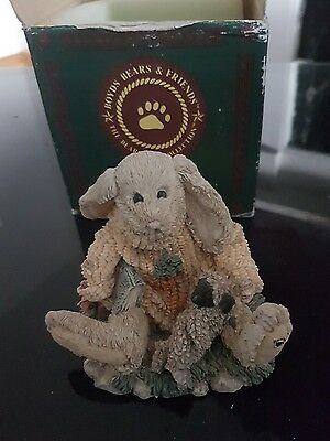 Vintage 1993 boyds bear and friends in box with certificate number 8E/504