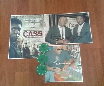Cass Pennant Hand Poker Chips And Pictures. Cass 2008. I.c.f Hooligan.