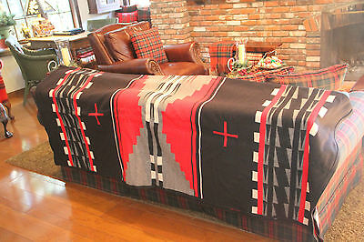 "PENDLETON BLANKET/ ROBE 64"" x 80"" NEW WITH TAGS IN BOX "" HIDATSA EARTH "" #1"