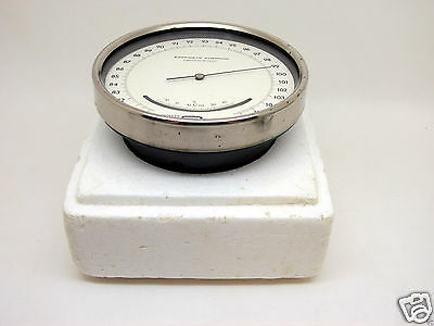 1976 Accurate Barometer Aneroid BAMM-1 - Vintage USSR Soviet Russian device AAA+
