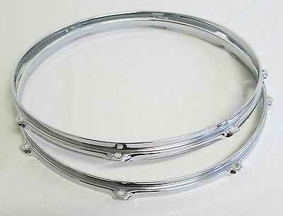 """NEW Set SONOR 16"""" FLOOR TOM DRUM HOOPS/RIMS 1.6mm (Force/3007/Select/SSE/Player)"""