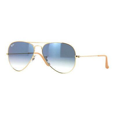 08e7622039 Gafas sol Sunglasses original Ray Ban Aviator 3025 Gradient 001 3F Blue Azul  NEW