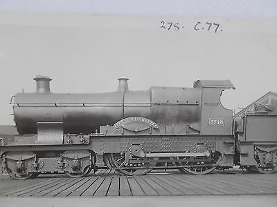 Rail Photopostcard - Gwr 3718 City Class 4-4-0 City Of Winchester At Reading Mpd