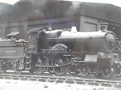 Rail Photopostcard -Gwr 3476 (3833) County Class 4-6-0 County Of Dorset