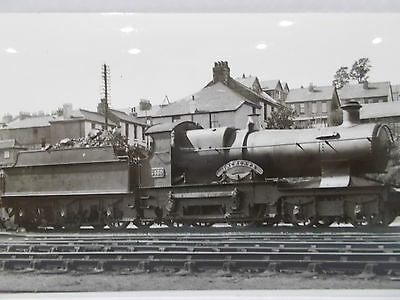 "Rail Photo- Gwr 3430 Bulldog Class 4-4-0 ""Inchcape"" Exeter 1935"