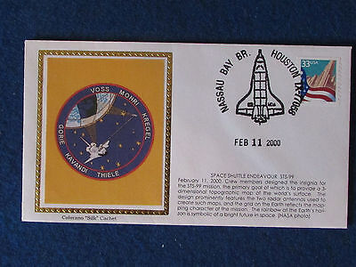 USA Commemorative Cover - NASA Space Shuttle Endeavour-11/2/2000-Stamped Houston