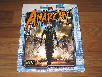 Shadowrun 5. Edition Anarchy Alternate Ruleset HC Catalyst Game Labs New 2017