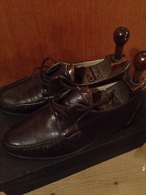 Vintage Bally, Mens Brown Leather Shoes, Size 8