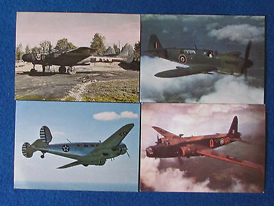 Aircraft Postcards - Lot of 4 - Produced by After The Battle Magazine
