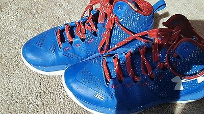 youth curry 2 shoes size 4