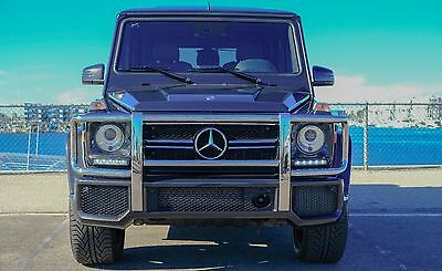 2014 Mercedes-Benz G-Class DESIGNO LEATHER PACKAGE 2014 Mercedes-Benz G63 AMG DESIGNO Leather Package Upgrade
