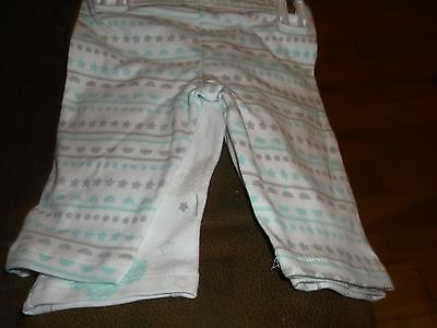 Newborn Baby Long Pants 2 Pack Sterling Baby 100% Cotton