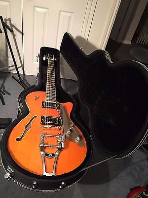 Duesenberg Starplayer TV Guitar with Hard Case (mint)