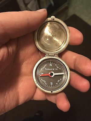 Tiffany & Co Silver Picasso Compass. Gorgeous piece.  1$ Auction Start!