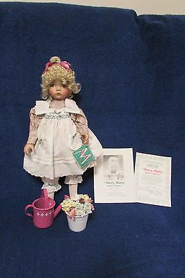 Dianna Effner Mother Goose Mary Mary Quite Contrary Doll
