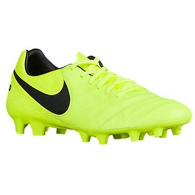 Nike Tiempo Mystic V FG Mens Firm Ground Soccer Cleats 819236707 Solar  Yellow