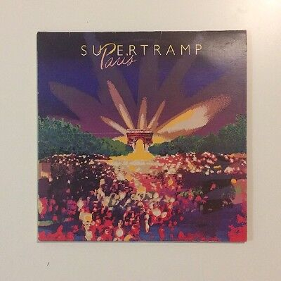 "Supertramp - Paris - 12"" Double Gatefold LP Vinyl Record - (1980)"