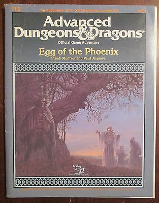 Module I12 Egg of the Phoenix Advanced Dungeons and Dragons 1987