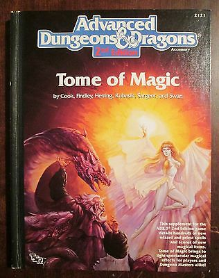 Tome of Magic Advanced Dungeons and Dragons 2nd Edition