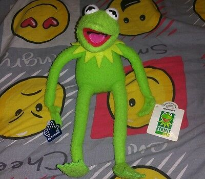 rare vintage applause posable bendy the muppets kermit doll