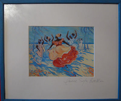 Impressions of the Caribbean SIGNED LTD EDITION PRINT BY JANICE SYLVIA  BROCK