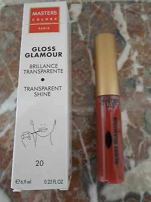 1 Gloss Lèvres Glamour N°20 MASTERS COLORS - MARY COHR VAL.21€