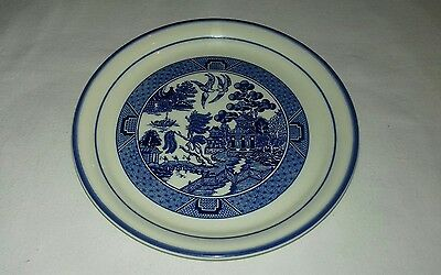 Arklow Pottery Ireland Willow Pattern Plate 7 1/2""