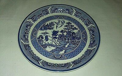 Arklow Pottery Ireland Willow Pattern Plate 9""