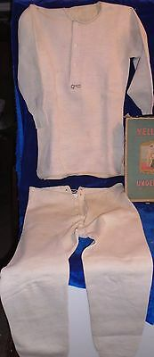 """Vintage  Nos """"wright's Health Underwear,   2 Piece Long Johns, Drawers"""