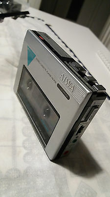 Aiwa HS-P05 HS-P5 Stereo Cassette Player Walkman  Vintage rare collection works