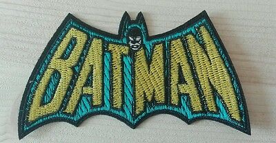 Batman retro patch Gewebt