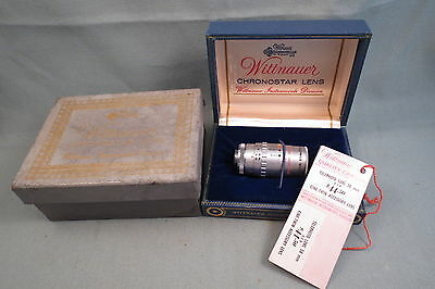 Vintage Chronostar Lens, Wittnauer, Telephoto 38mm, In Box, Photography,With Tag