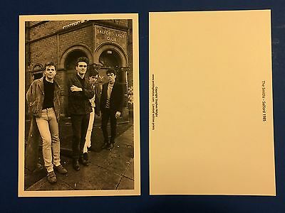 The Smiths Morrissey 2 x Postcards - Salford Lads Club By Stephen Wright
