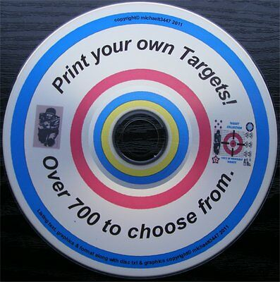 Shooting Targets, Archery Targets. Print your own targets. 700+