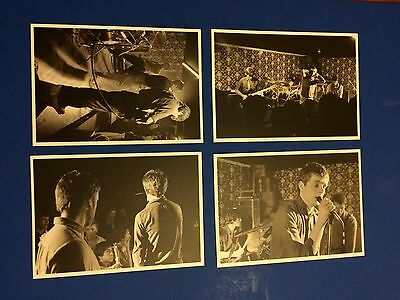 Joy Division 4 x Postcards from Bowden Vale Youth Club 1979 by Martin O'Neill