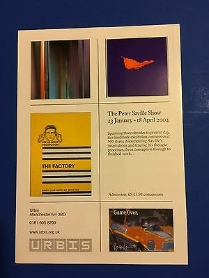 Peter Saville At Home Urbis Manchester 2004 Promo Booklet