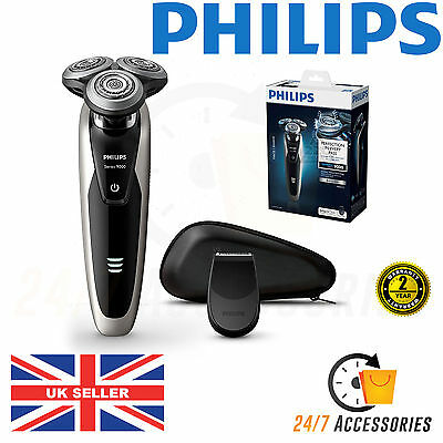 Philips S9041/12 Wet & Dry Mens Electric Shaver with Precision Trimmer BRAND NEW