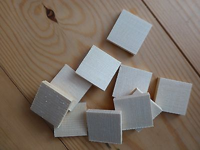 10 Double Bass Repair Cleats, Pre-Cut, Spruce, 29X29X5Mm,  From Uk!