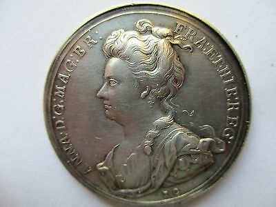 Queen Anne 1707 Act of Union silver medal. E F or better.One of the best around.