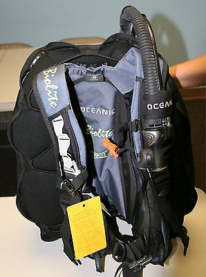 Oceanic scuba diving BCD  Brand New Biolite Mens BC with tags Inflator Large