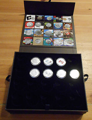 Royal Canadian Mint 20 For 20 99.99% Silver $20 Coin 2013 - 2016 Collector Set